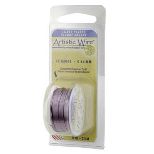 Artistic Wire Amethyst  22GA - Dispenser Pack