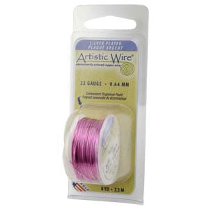 Artistic Wire Rose 24GA - Dispenser Pack