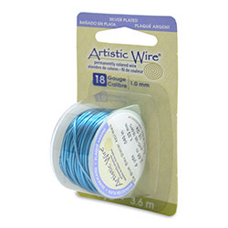 Artistic Wire Ice Blue 18GA - Dispenser Pack