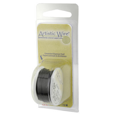 Artistic Wire Black 18GA - Dispenser Pack
