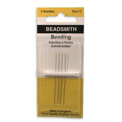 The BeadSmith Beading Needles ~ Size 13
