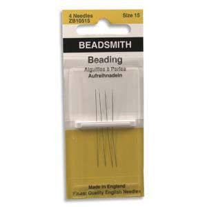 The BeadSmith Beading Needles ~ Size 15