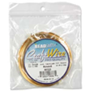 14 Gauge Craft Wire Pro Quality - Non Tarnish Gold