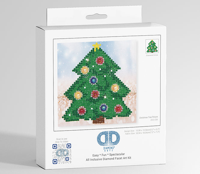 Diamond Dotz - Christmas Tree Picture