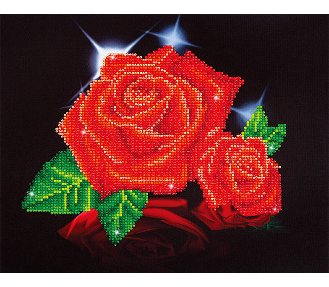 Diamond Dotz - Red Rose Sparkle