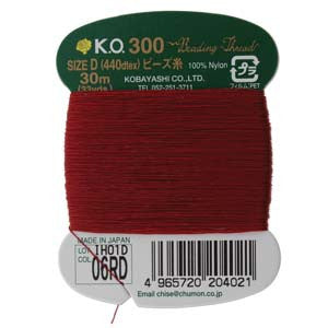KO Thread Size D ~ Red