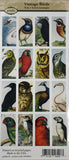 Vintage Birds Rectangle Images ~ Piddix