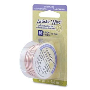 Artistic Wire Rose Gold 18GA - Dispenser Pack