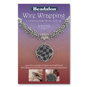Wire Wrapping Component & Stone Setting Book ~ Beadalon