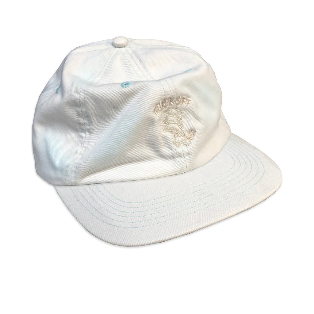 PALE BLUE ACID WASHED DOLPHINS 6 PANEL