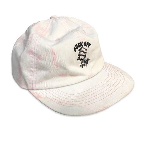PINK ACID WASHED DOLPHINS 6 PANEL