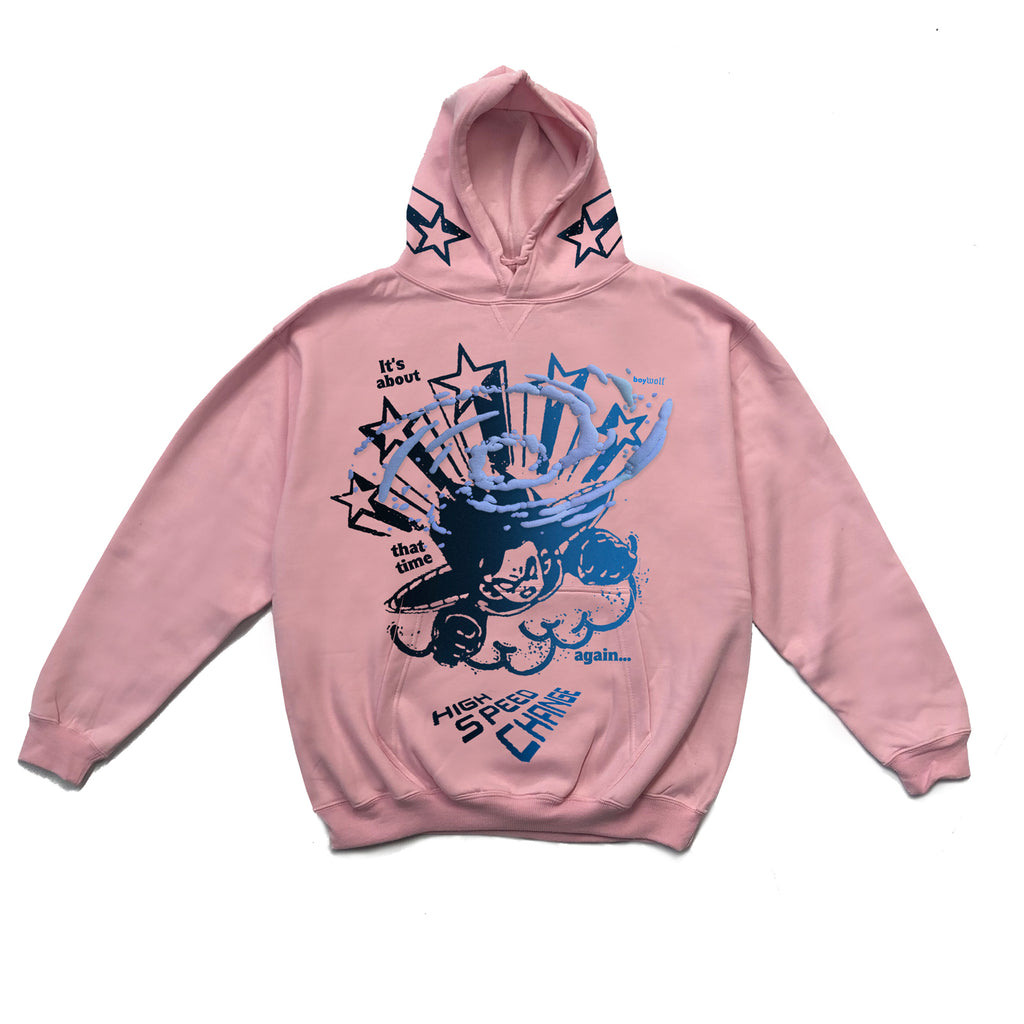 HIGH SPEED CHANGE hoodie size XLARGE