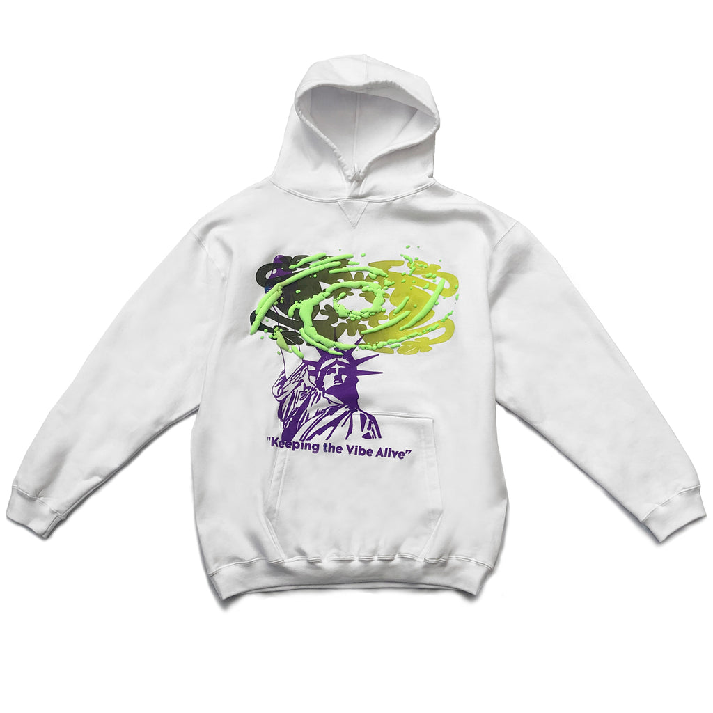 VIBE ALIVE hoodie size XLARGE