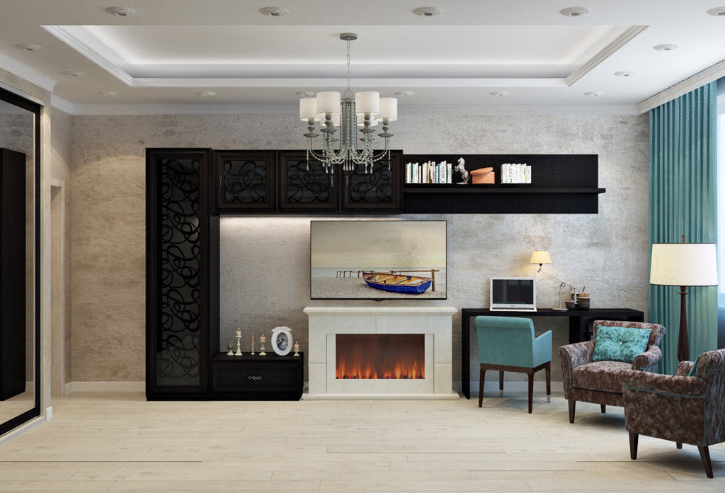 Fireplace Mantel: Granite the Perfect Complement