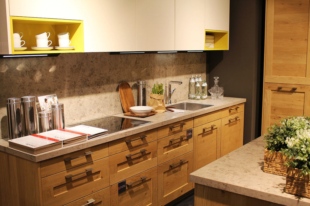 Kitchen Backsplash Trends Using Granite Tiles