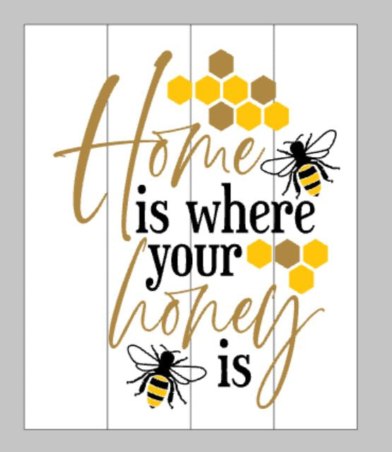 Home is where your honey is with bees