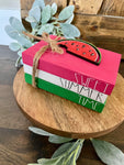 Tiered Tray Mini Book Stack - Sweet Summer time