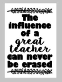 Teacher Tiles - The influence of a great teacher