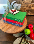 Tiered Tray Mini Book Stack - Teach Love Inspire