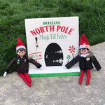 Official North Pole Magical Elf Entry  (Elf on shelf)