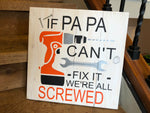 If papa cant fix it were all screwed