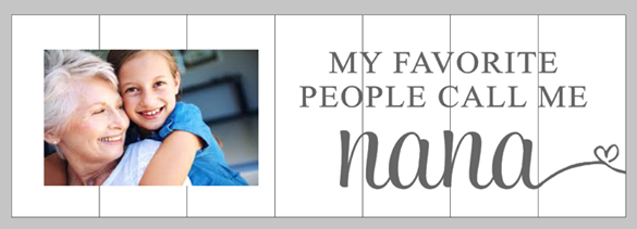 My favorite people call me-Photo Board