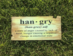 Han-gry definition