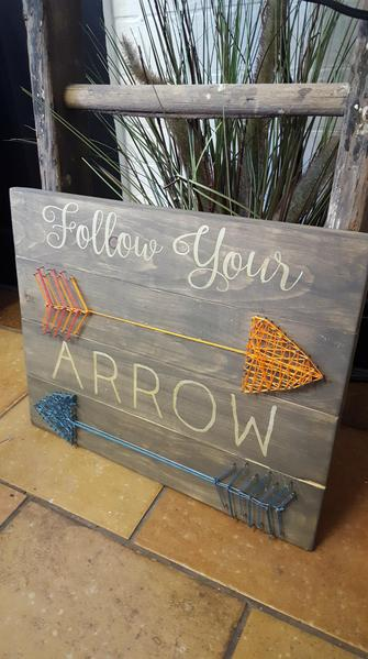 String Art  - Follow your arrow