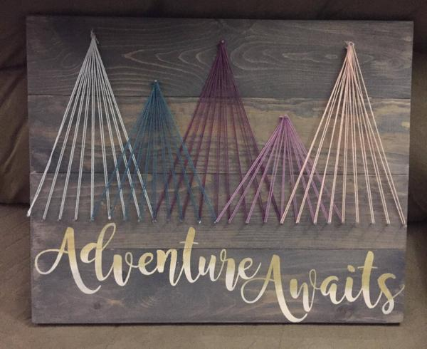 String Art  - Adventure Awaits