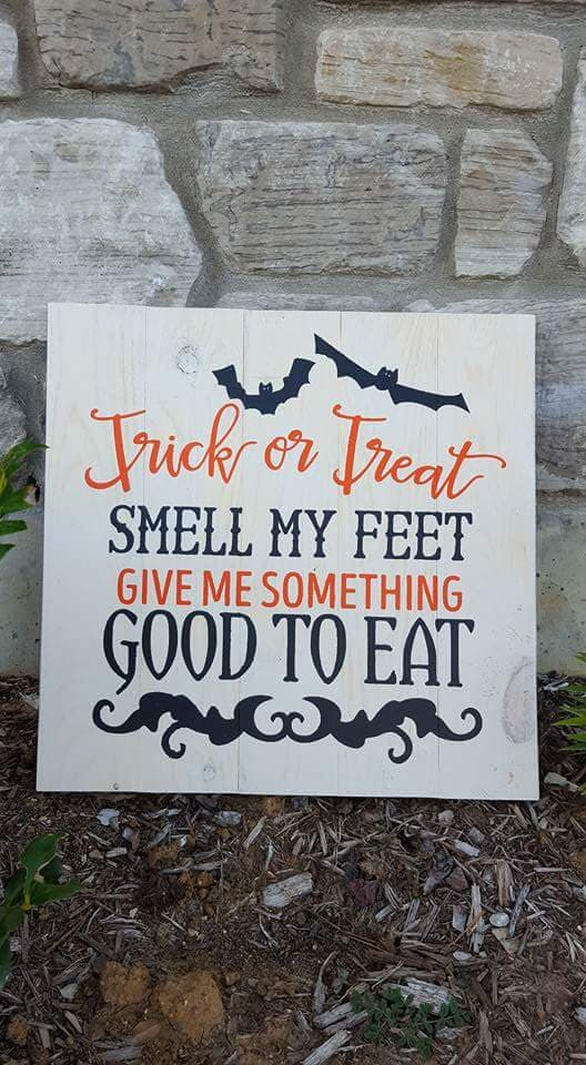 trick or treat smell my feet