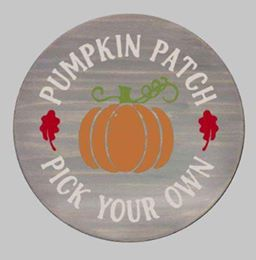 Pumpkin patch pick your own-round