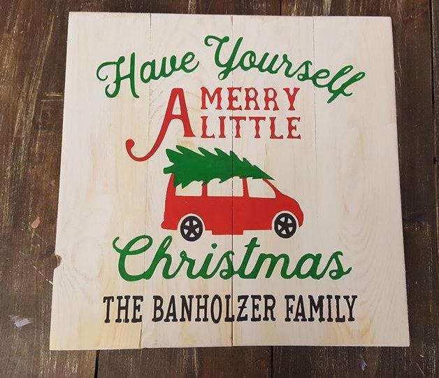 Have yourself a merry little Christmas-Van with family name