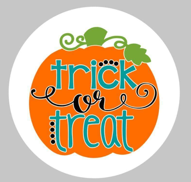 trick or treat-round