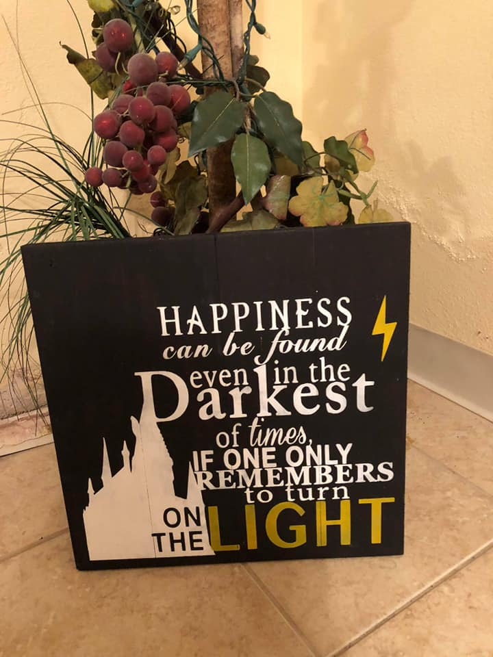 Harry Potter-Happiness can be found even in the darkest of places