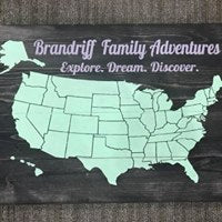 Family Adventures Chalkboard