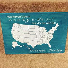 We haven't been everywhere but it's on our list with Family name