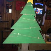 Christmas Tree - Picture hanger