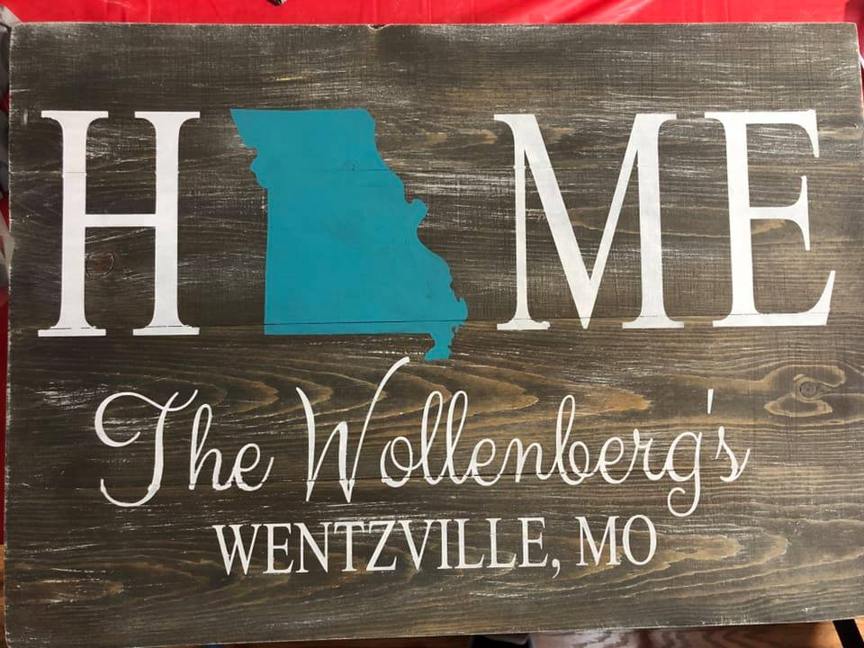Home state-Family name and city