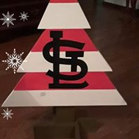 Christmas Tree - STL Cardinals