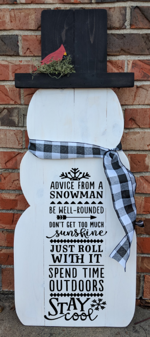 Snowman - Advice from a snowman