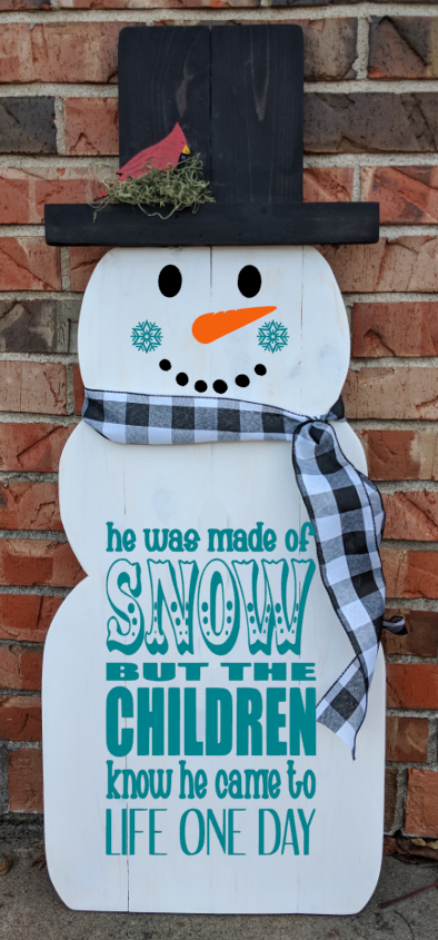 Snowman - He was made of snow