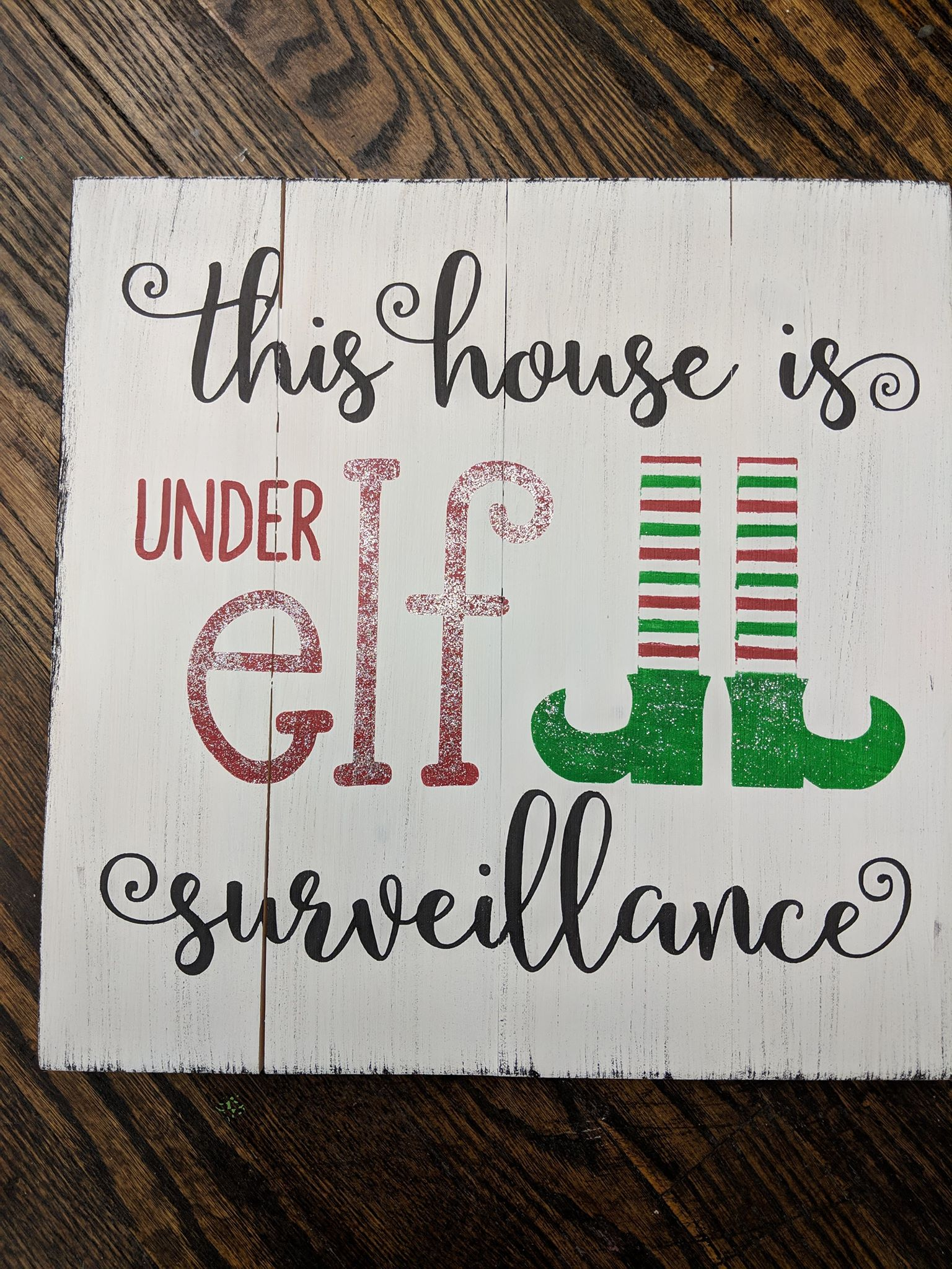 This house is under elf surveillance