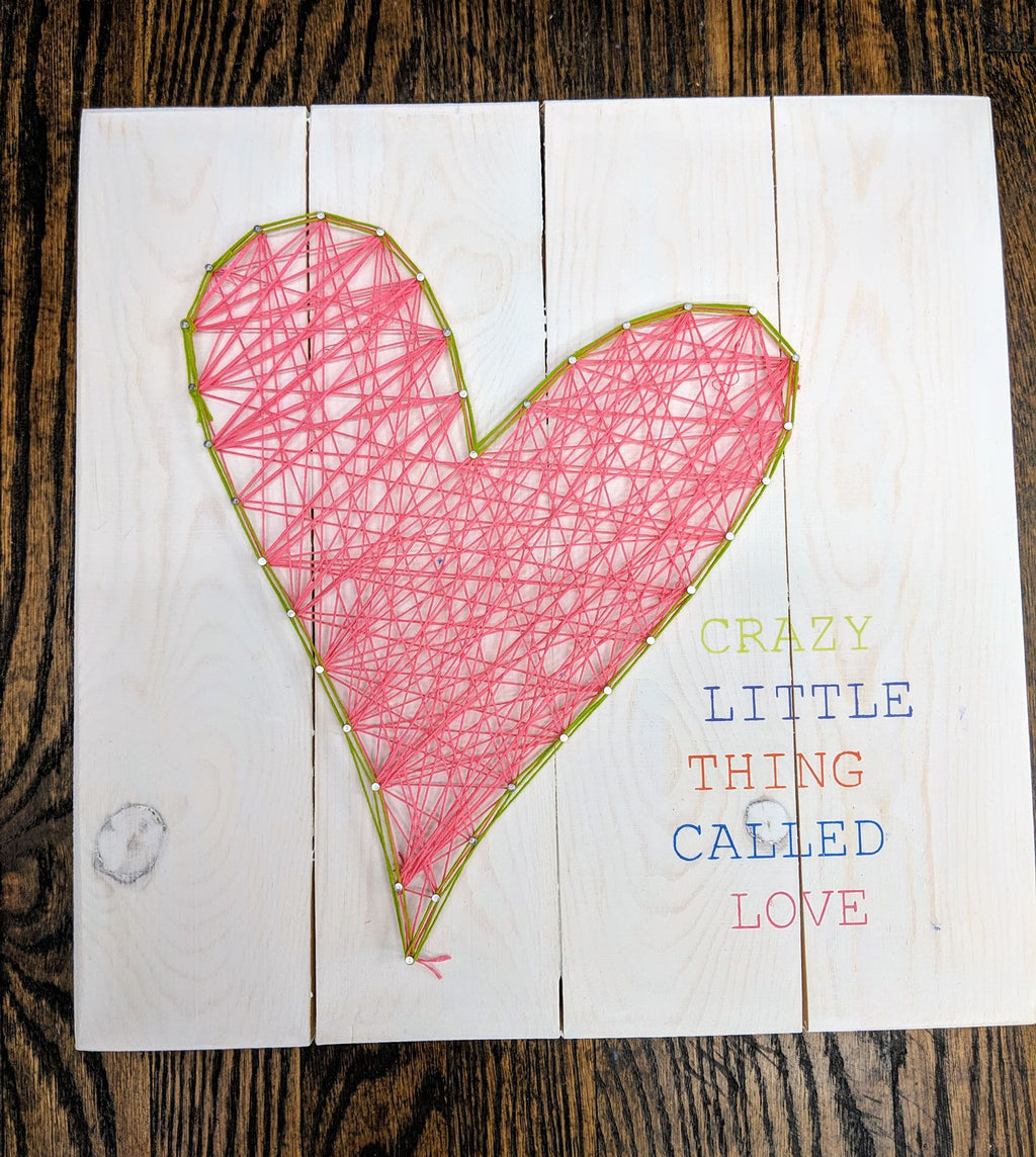String Art  - Crazy little thing called love