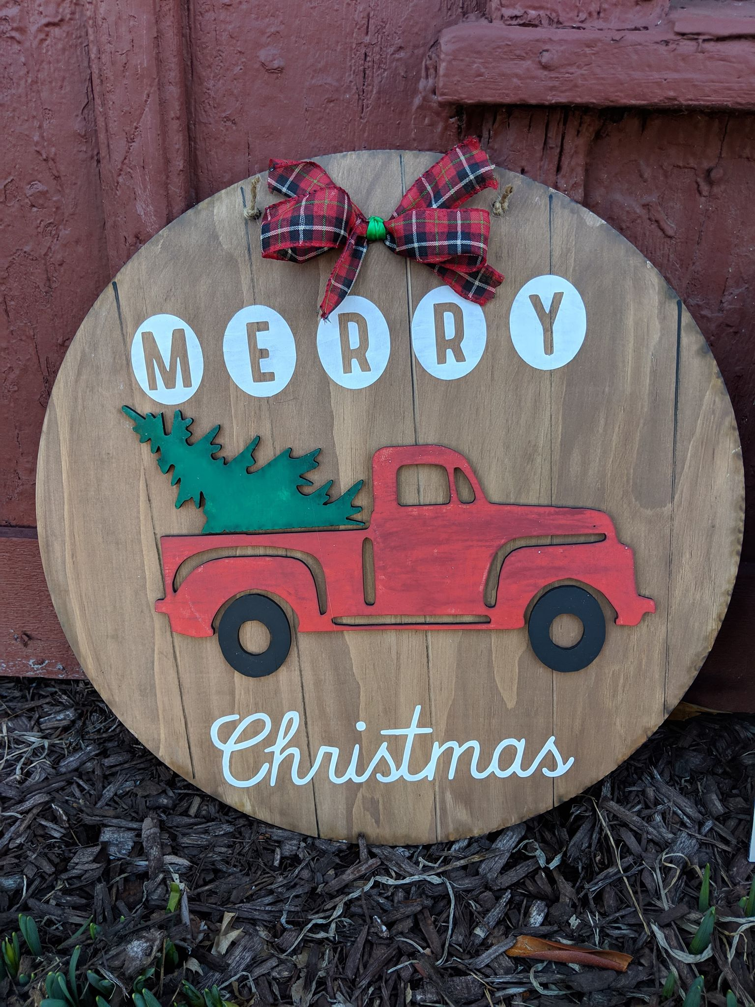 3D Door hanger Reversible truck