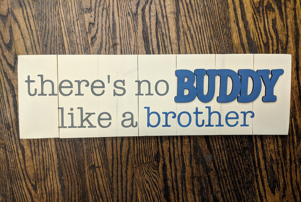 3D there's no buddy like a brother