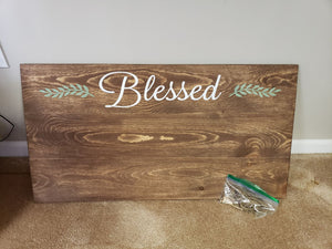 Blessed - Photo Board