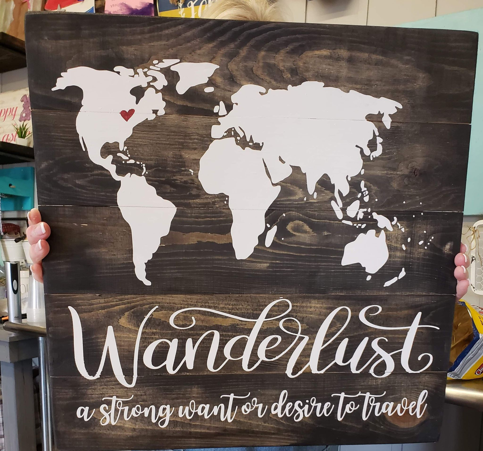 Wanderlust-A strong want or desire to travel