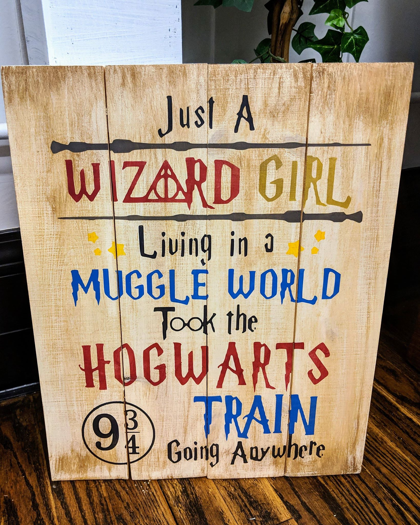 Harry Potter-just a wizard girl