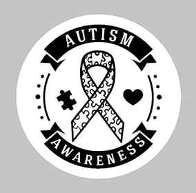 Autism awareness Round