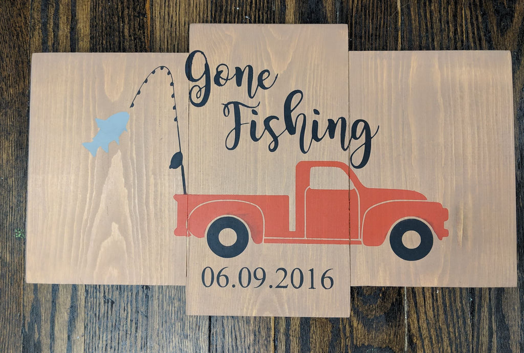 Truck Gone fishing
